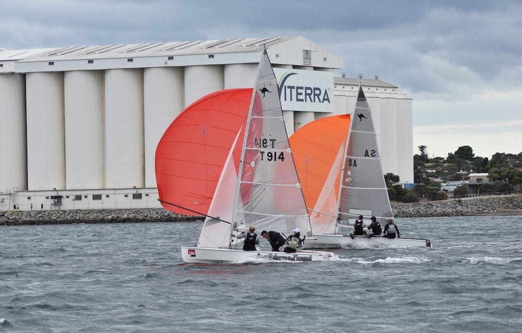 SA Sharpie's Frostbite Regatta Success